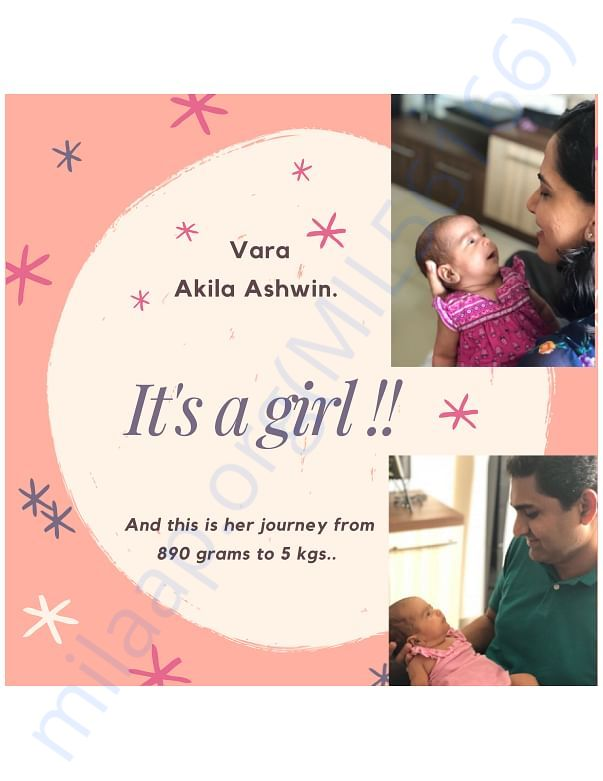 Vara's Story - Details of a preemie's battle for life - Part 1