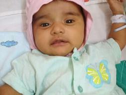 Help 1-month-old Baby Sharda Undergo A Surgery