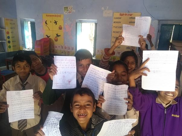 Creative Pustak- Initiative for Personal Space for Government Schools