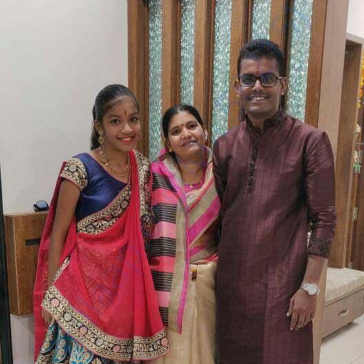 Family of Umesh Bajaj