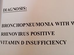 Help Mohammed  Recover From Bronchopneumonia