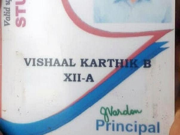 Help us save Vishaal Karthik who is battling Blood Cancer