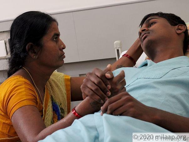 Help Anil kumar to undergo his treatment