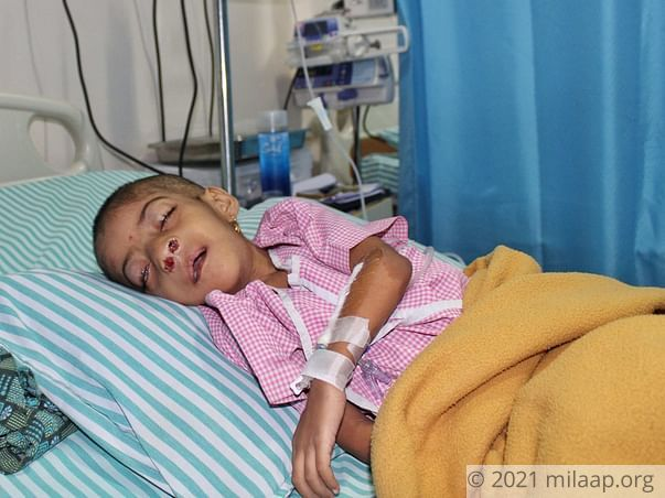 Baby Charitha needs your help to undergo her treatment