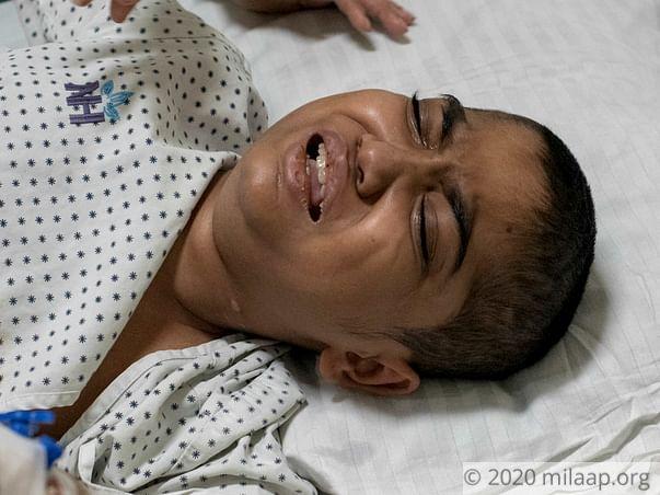 Help Ruturaj Patil to fight disease