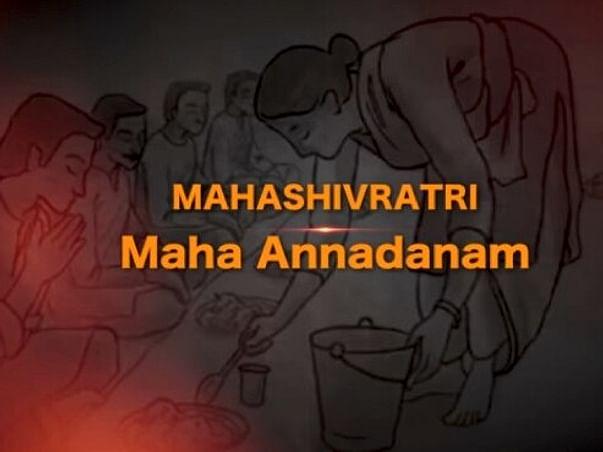 Support Saravanan for Annadhanam @25th Mahashivratri Isha Yoga Centre
