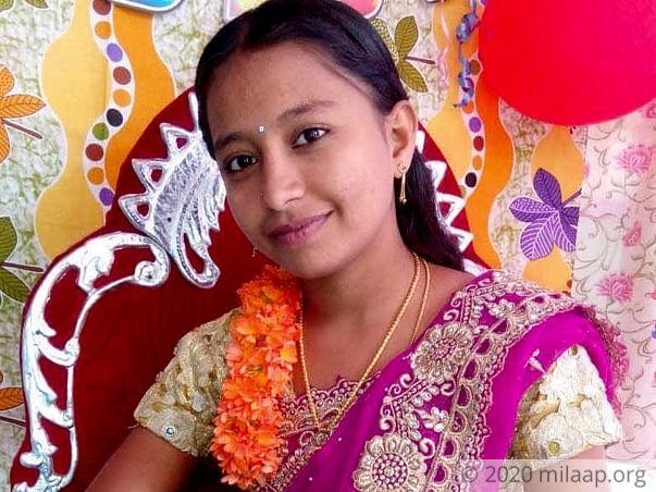Help Chitikana Sandhya to undergo Kidney Transplant
