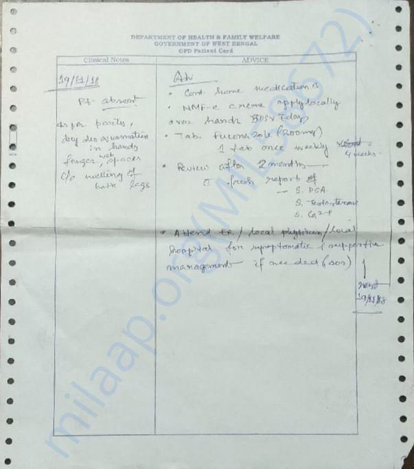 prescription of RAM NARAYAN DAS , page 10