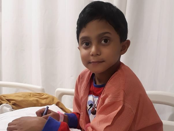 Help Little Unnabh For Viral Encephalitis Medical Expenses-EMERGENCY