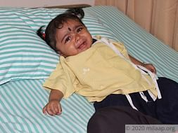Baby Dhanika needs your help to fight disease