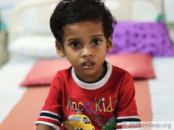 Help Rehan Prasad to undergo his treatment