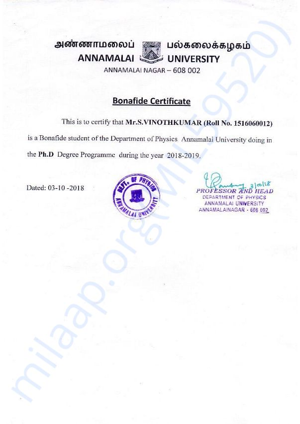 I AM VINOTHKUMAR ALL DOCUMENT ATTACHED HERE THANK YOU