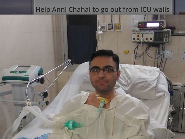 Help Anni Chahal to go out from ICU walls