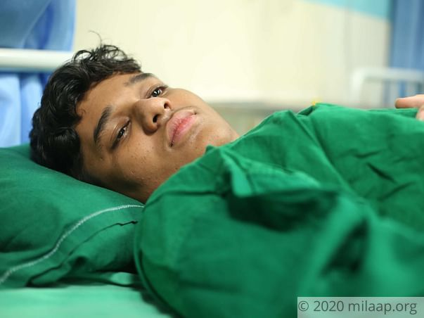 Save 16-year-old Who Is Losing Hope As Father Cannot Afford Treatment