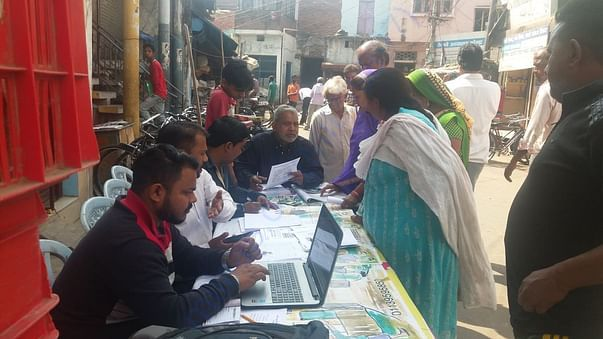 Saaras Foundation helping parents in application process
