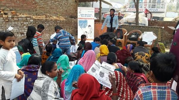 Saaras Foundation running campaign into low income area
