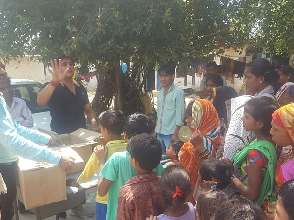 Nutritious Meal for Poor & Underprivileged