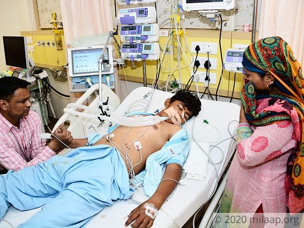 Mohd Sameer needs your help to undergo his treatment