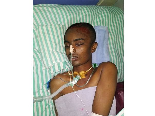 Help Mohammad Recover from Severe Injuries