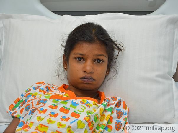 Poojitha needs your help to fight Cardiac problem