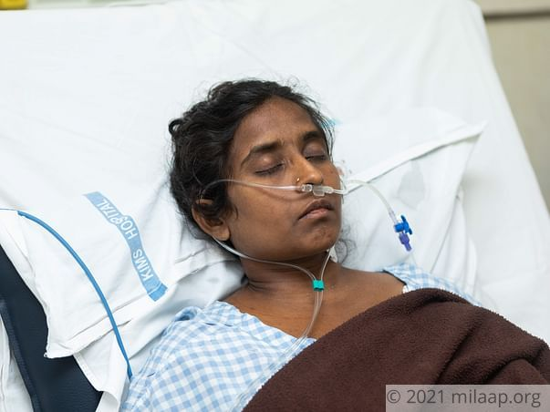 S Sarada needs your help to undergo Liver transplant