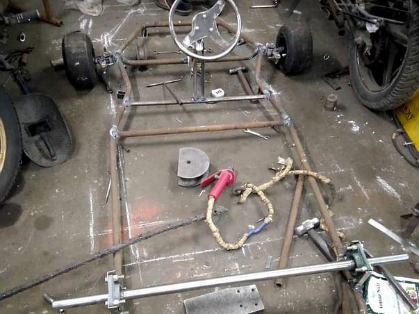 Join Team Technokart In Making An Electric Go-kart