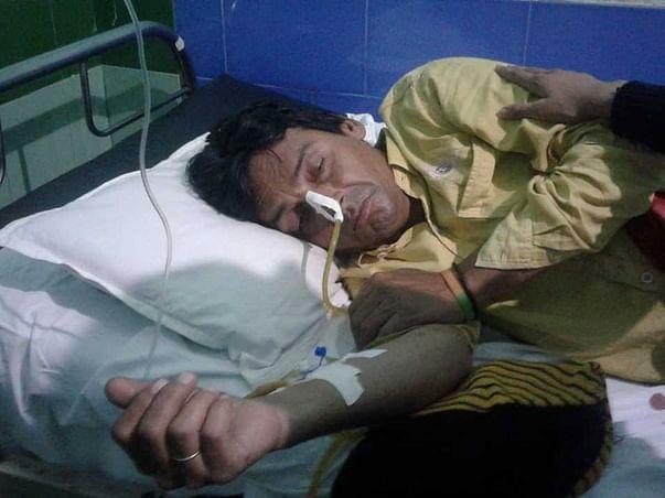 Syed Anwar Ali Jafri needs urgent financial assistance for treatment