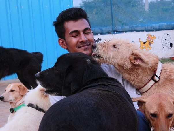 Help Sarvoham to quench the thirst of street dogs
