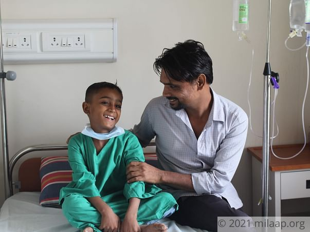 Mohd Faiz Mansoori needs your help to undergo his treatment