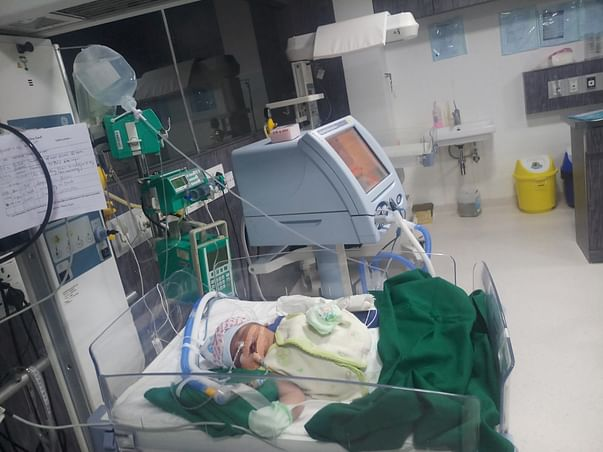 Save Baby of Veena & Nagaraj
