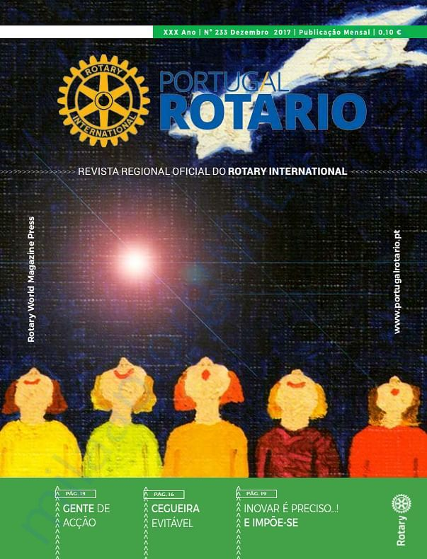 PROJECT PUBLISHED IN ROTARY NEWS OF PORTUGAL