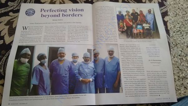 PROJECT PUBLISHED IN ROTARY NEWS OF INDIA