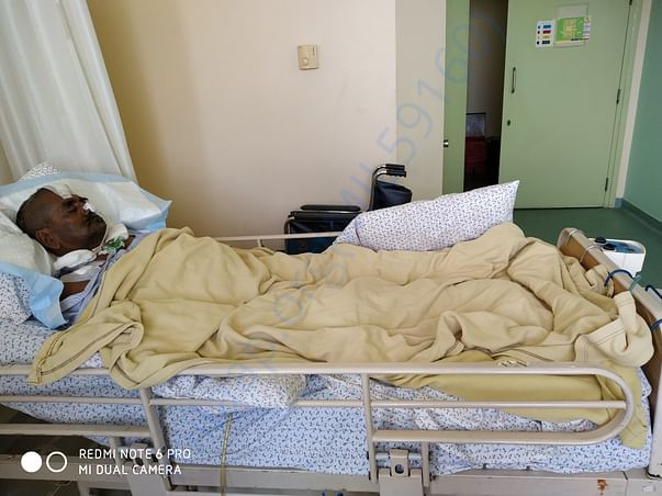 Current situation in hospital