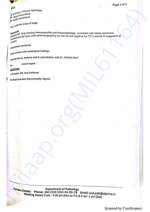 Histopathology Report 2