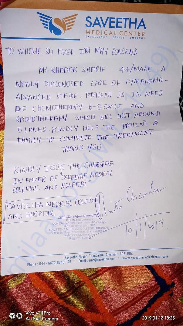 Doctor request letter