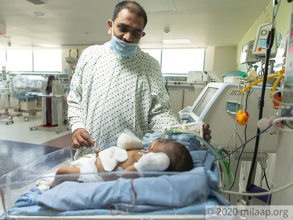 Help Baby of Sridevi to survive