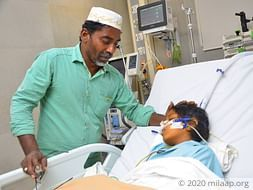 Share Auto Driver's Daughter Has Only Few Hours For Liver Transplant