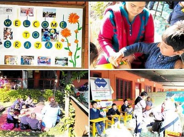 """Srajan Special School & Special need Children"""