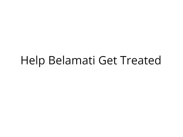 Help Belamati Fight Cancer