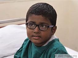Krishna needs your help to fight disease