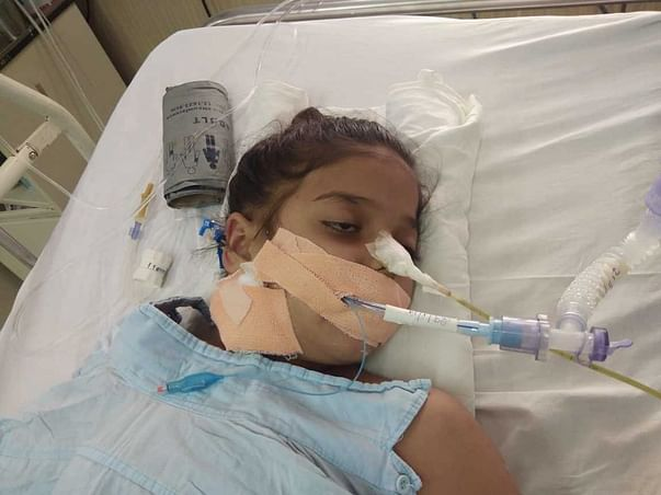 Help Mandvi Recover from Severe Injuries from an Accident