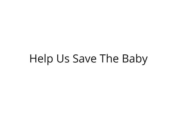 Help Eswar's 10 Day Old Baby's Fight for Survival