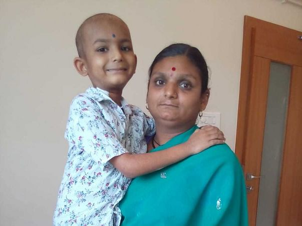Neck Deep In Debts, Poor Farmer Needs Help To Save His Son From Cancer