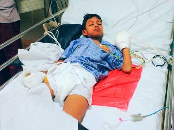 Help Vishnu undergo Typhoid Treatment