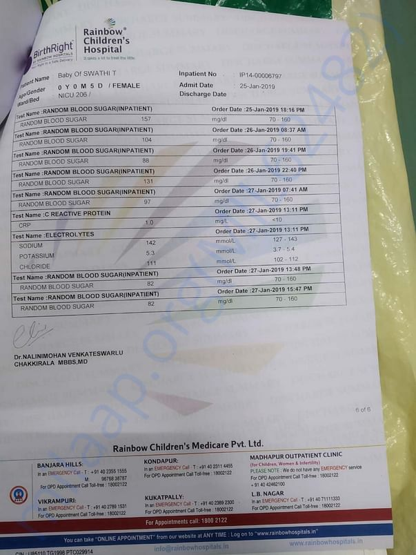 Treatment documents