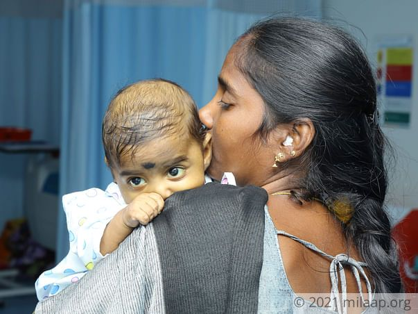 Poor Parents Struggle To Afford Liver Transplant For Their 5-Month-Old