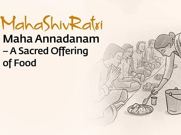Donate for Mahashivratri Annadhanam