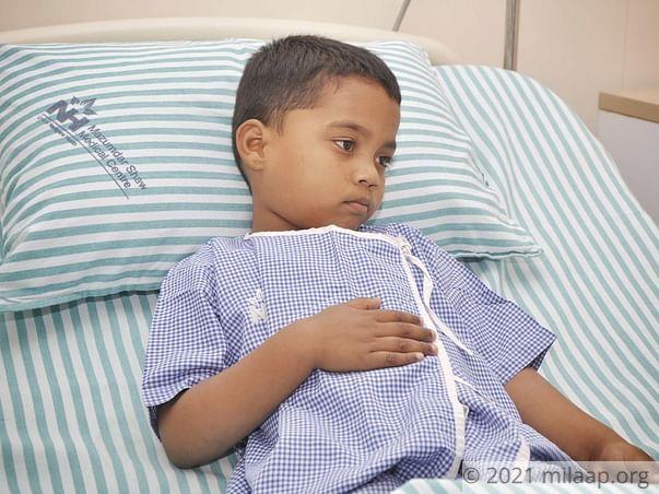 Dayananda needs your help to undergo his treatment