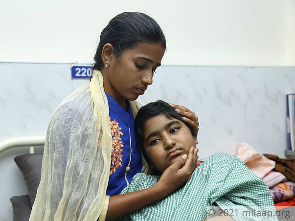 Lasya priya needs your help to fight disease