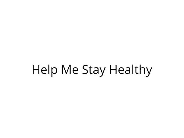Help Me Stay Healthy Post My Kidney Transplant